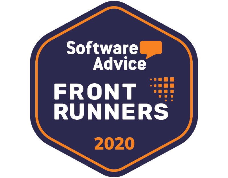 Software Advice FrontRunners 2020 Badge