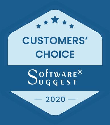 SoftwareSuggest Customers' Choice Award