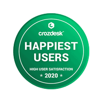 Crozdesk Happiest Users 2020