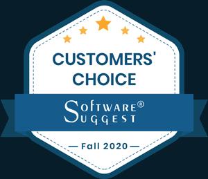 SoftwareSuggest Customers' Choice 2020
